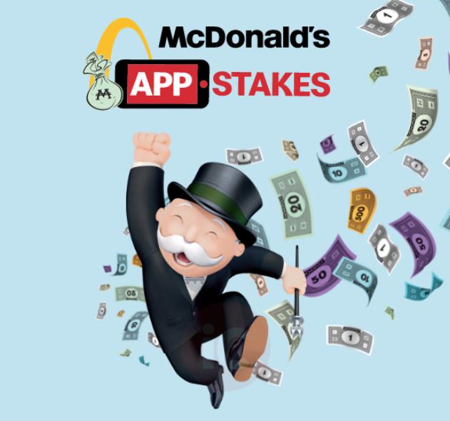 Mcdonald s app stakes