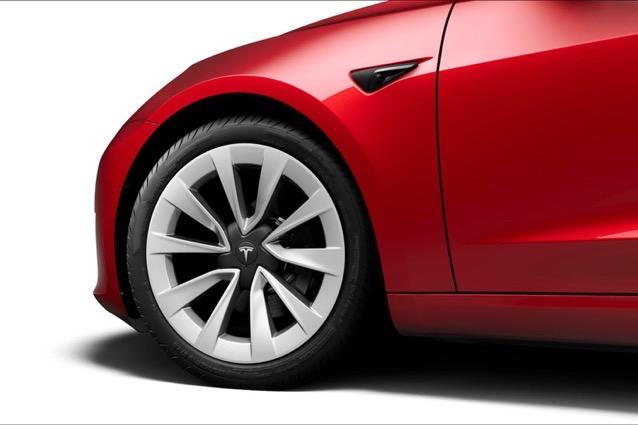 Model 3 stiletto wheels