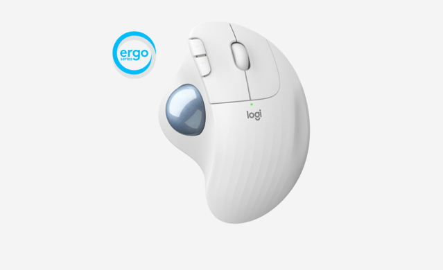 Logitech Launches New ERGO M575 Ergonomic Wireless Trackball Mouse