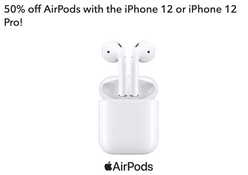 Rogers 50 off airpods