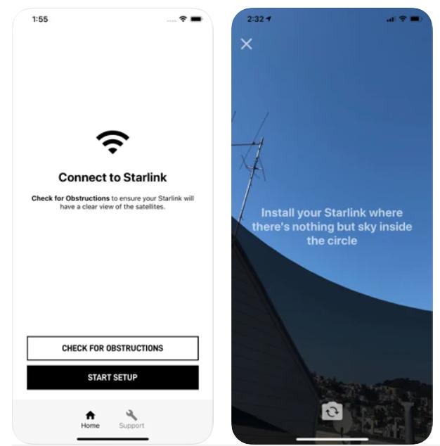 Starlink ios app 2