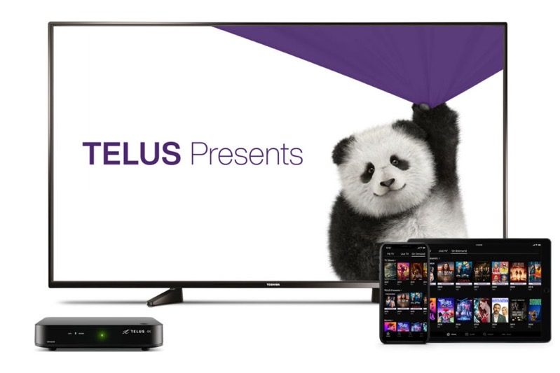 Telus presents hero