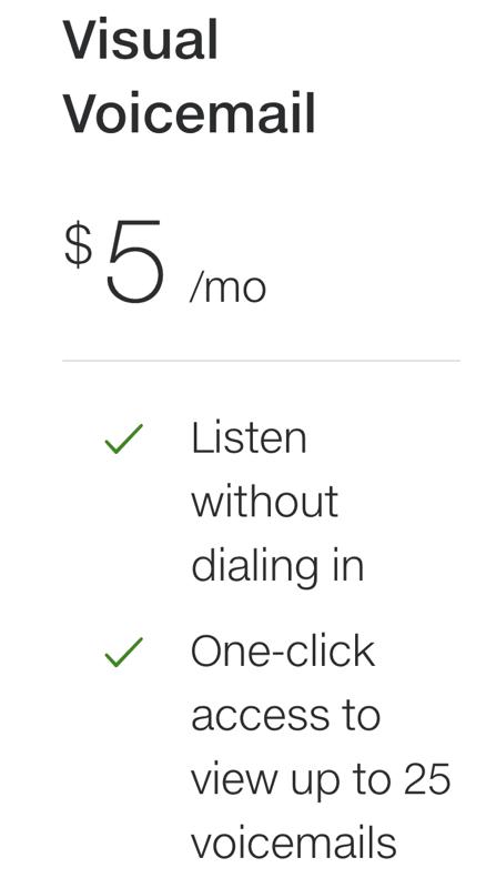 Telus visual voicemail