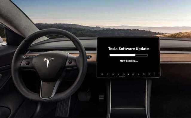 Tesla software