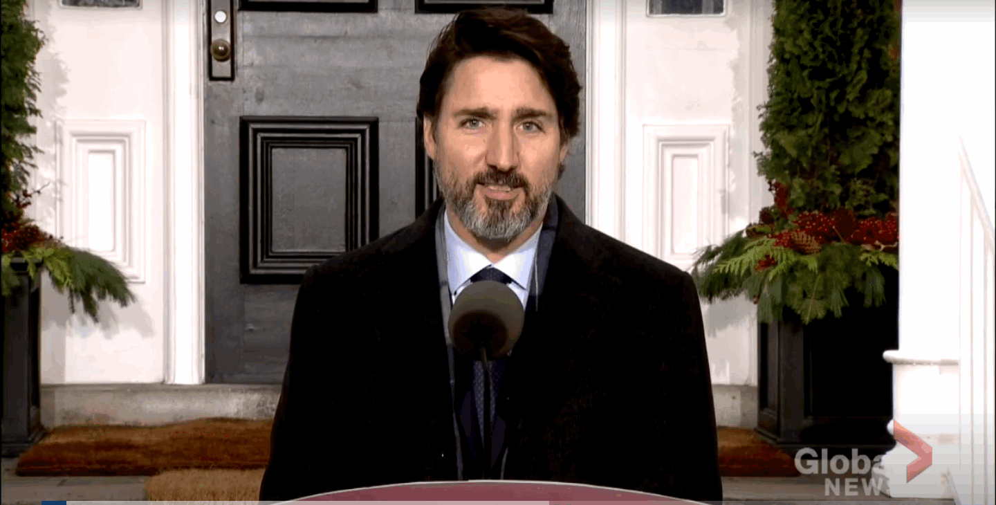 Justin Trudeau Urges Canadian Youth to Download COVID Alert