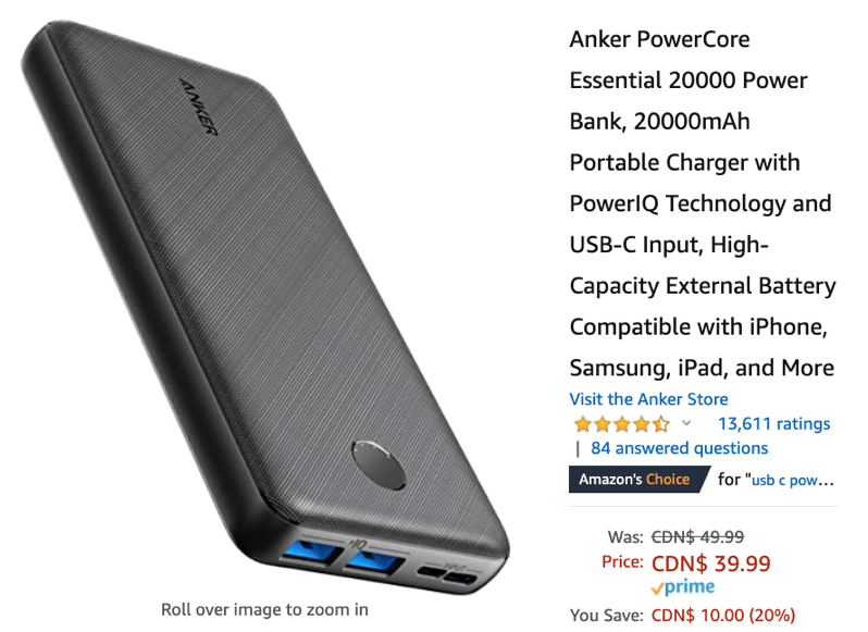Anker powercore deal