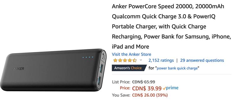 Anker powercore sale
