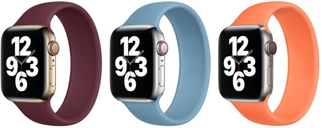 Apple watch solo loop new colors