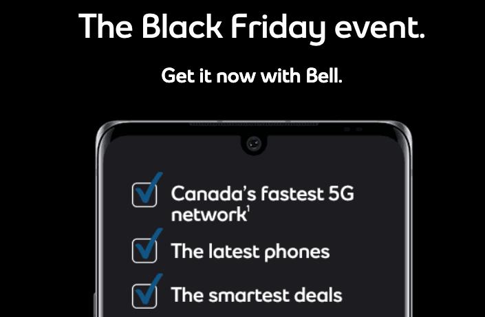 Bell black friday 2020