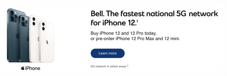 Bell iphone 12 pro max