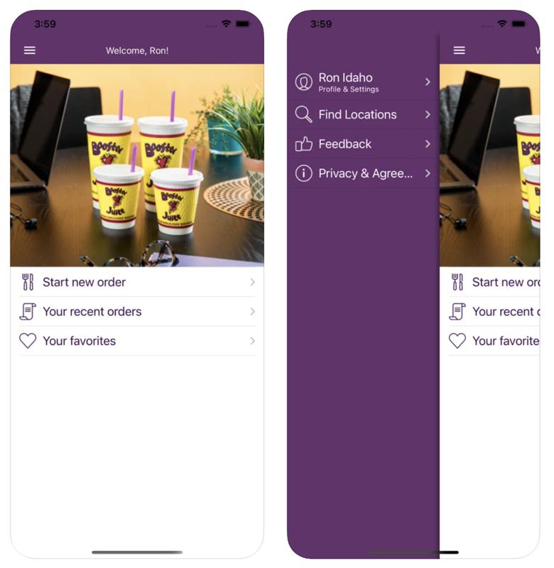 Booster juice app ios