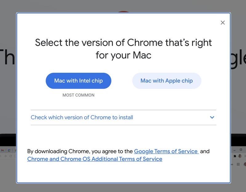 Chrome m1 mac