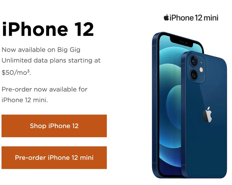 Freedom iphone 12
