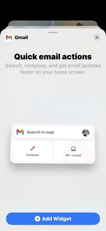 Gmail ios 14 widget