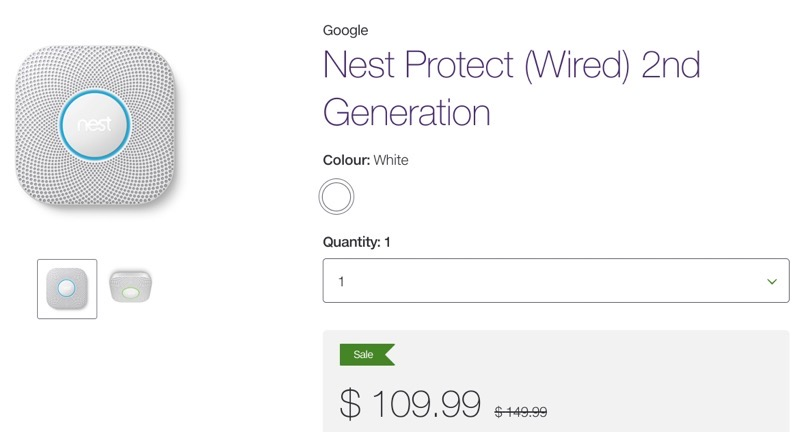 Google Nest Protect Black Friday Deal: Save $40 Off at $109