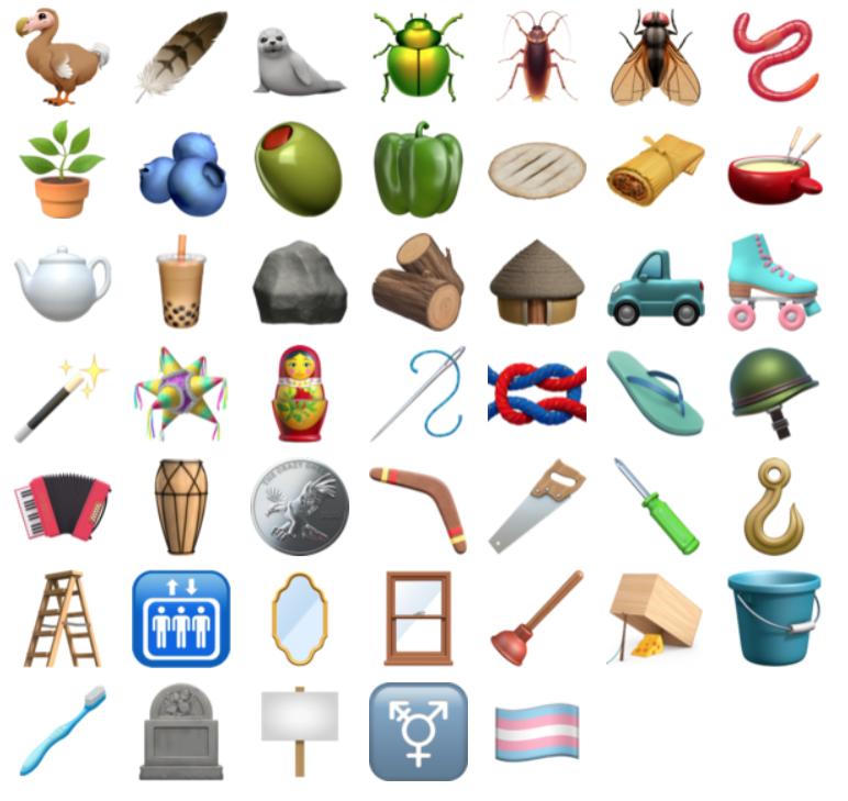 Ios 14 2 new emojis 2