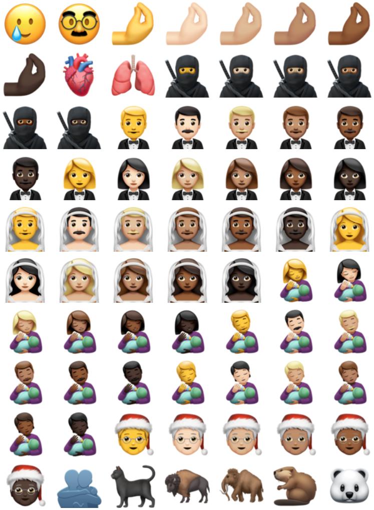 Ios 14 2 new emojis