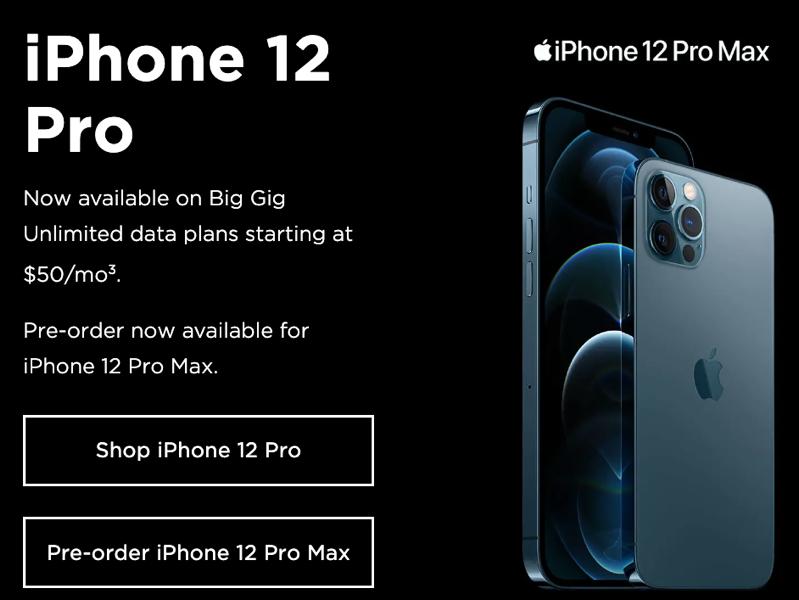 Iphone 12 pro max freedom
