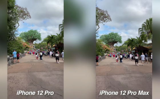 iPhone 12 Pro vs 12 Pro Max Video Stabilization Test [VIDEO]
