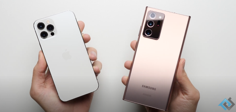 Iphone 12 pro vs note 20 ultra
