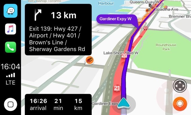 Waze carplay 2