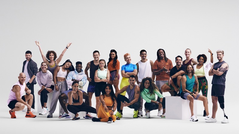 Apple fitness plus launch group photo 12142020
