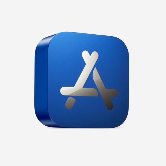 App store best physical award blue