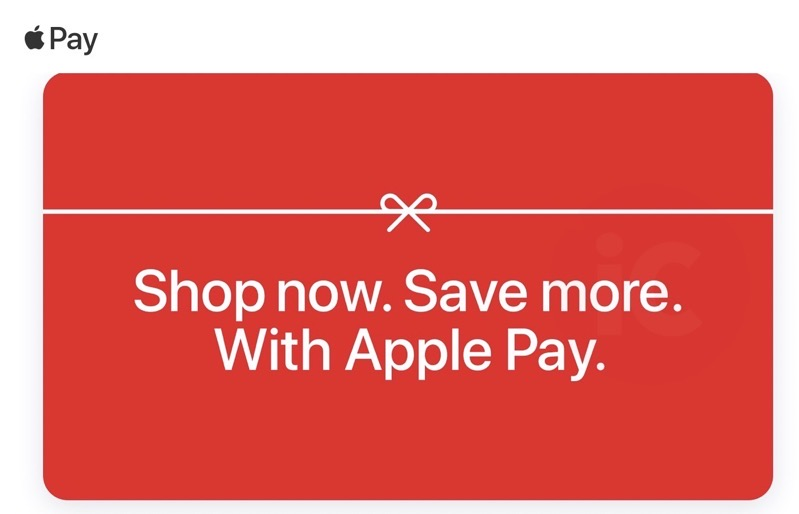 Apple pay offers 2020