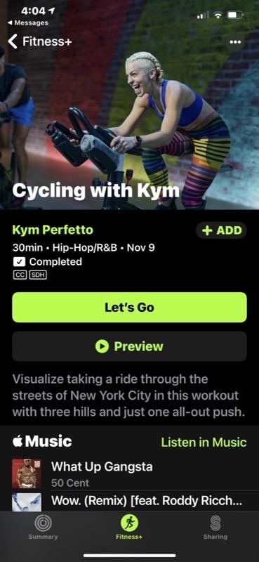 Kym perfetto cycling