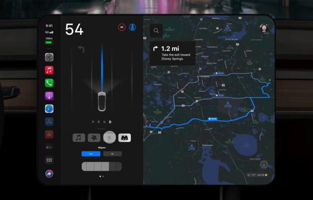 UI Apple Car