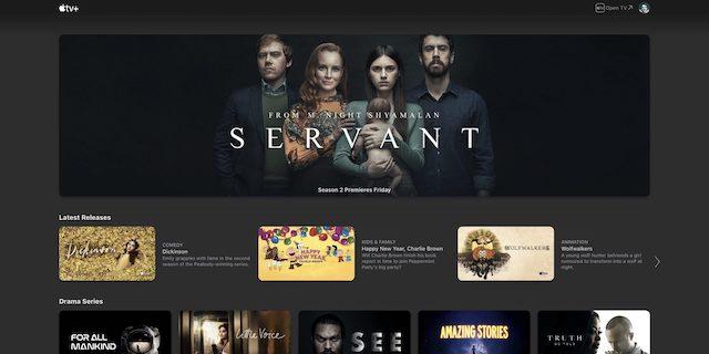Apple tv servant