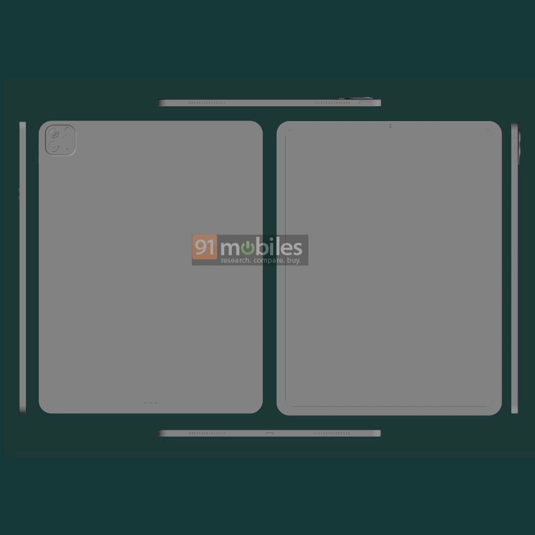 Leaked CAD Renders Show Off New Apple 11-Inch iPad Pro ...