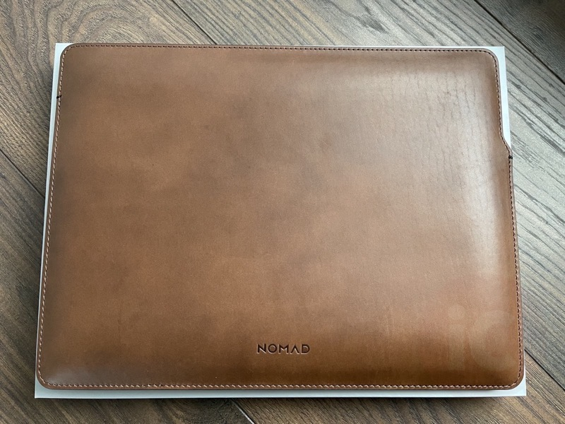Nomad leather macbook sleeve3