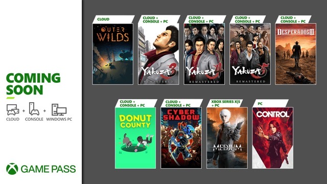 Xbox pass