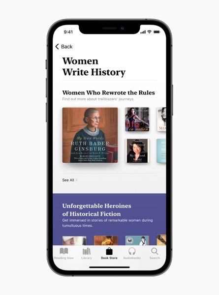 Apple iPhone12Pro apple books women write history carousel jpg large 2x