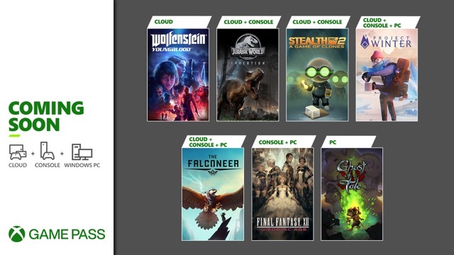 Xbox Game Pass Coming Soon February Wave 1
