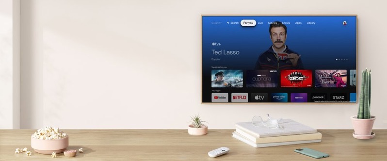 Apple tv google tv