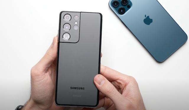 Iphone 12 vs galaxy s21