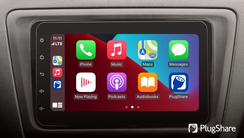 Plugshare carplay hero