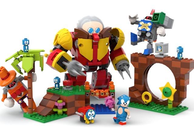 Sonic mania lego