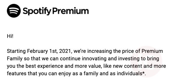 Spotify premium canada