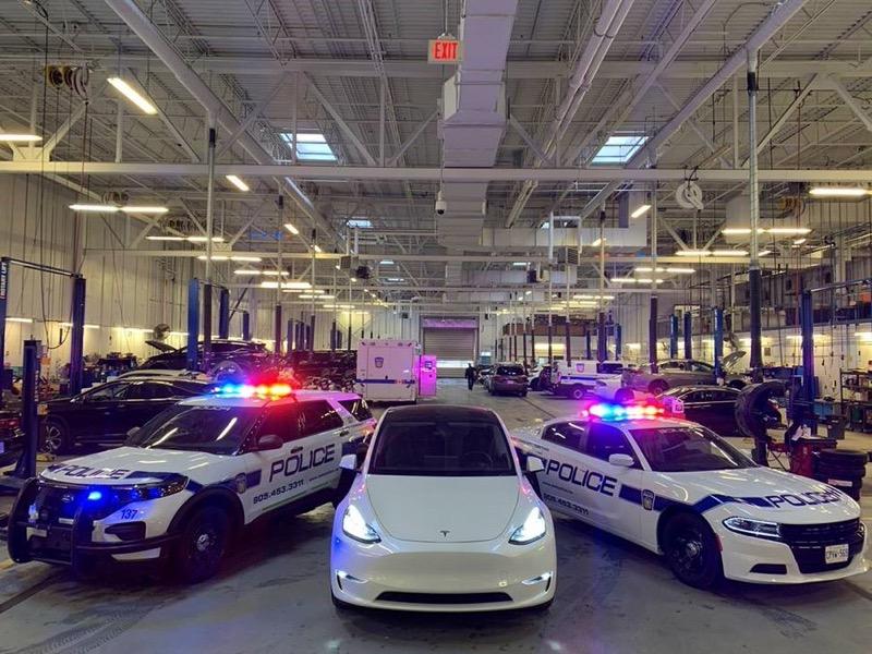 Tesla regional police peel ontario