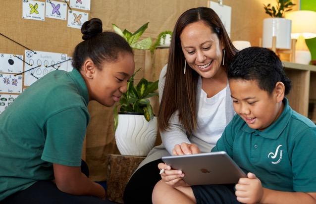 Apple students at Christchurch Bromley School prototype samoan language app using iPad 2 022321 big jpg large 2x