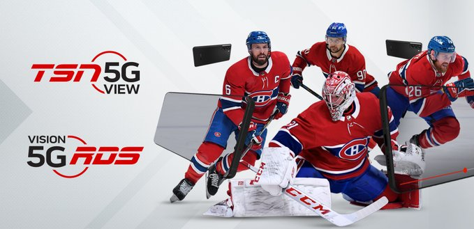 TSN bell 5G view hockey