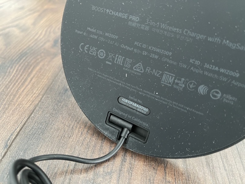 Belkin boostcharge pro 3 in 1 4