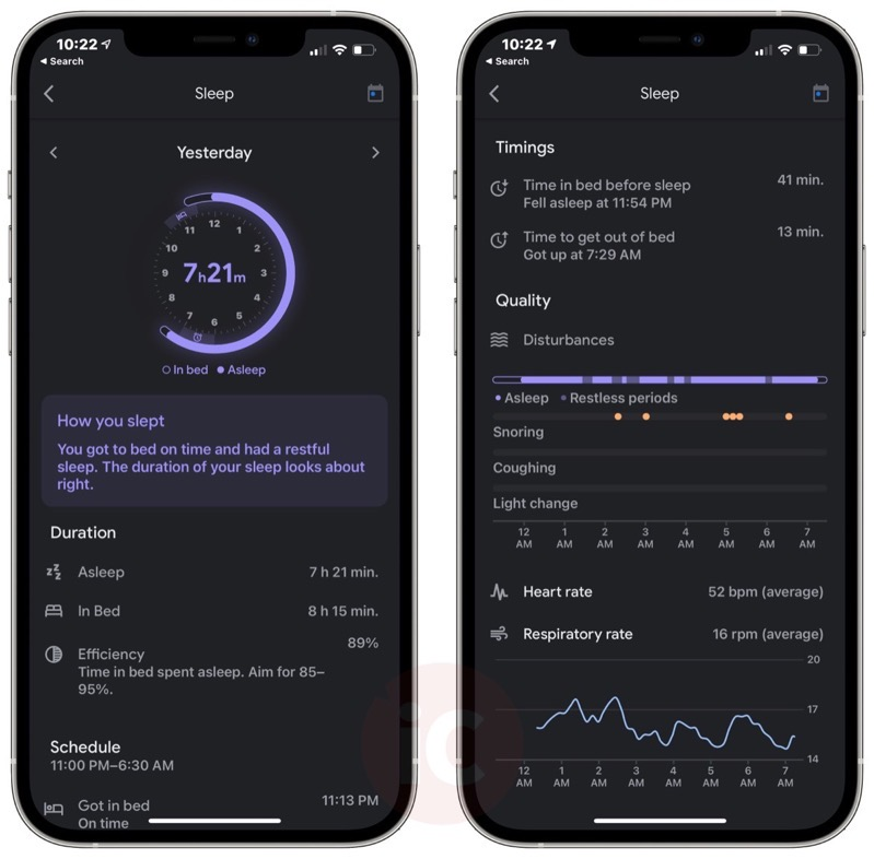 Google nest hub sleep tracking