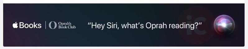 Hey siri oprah