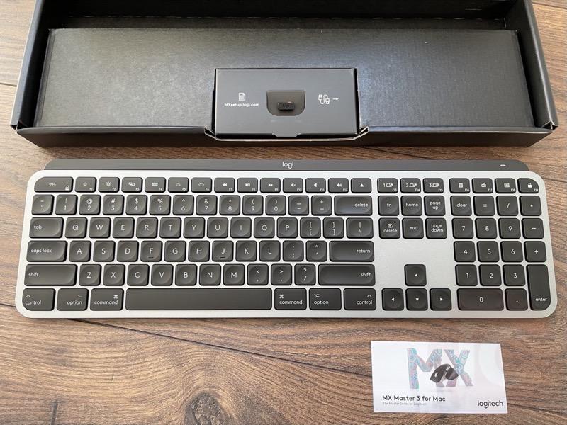 Logitech mx keys mac review 3
