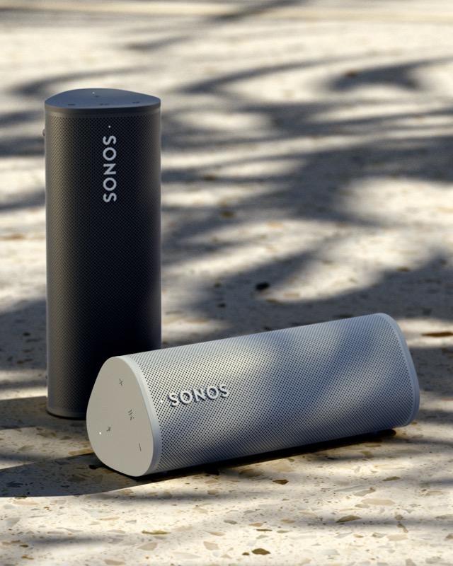 Sonos roam white black