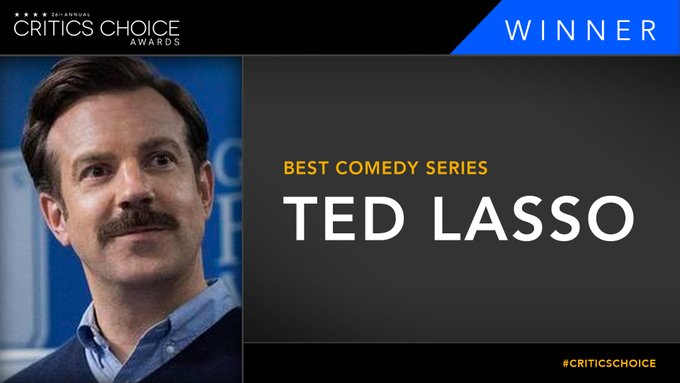 Ted lasso critics choice